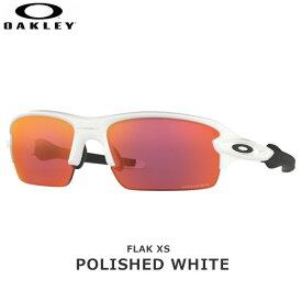 オークリー サングラス フラック OAKLEY FLAK XS フレーム:Polished White レンズ:Prizm Field oky-sp