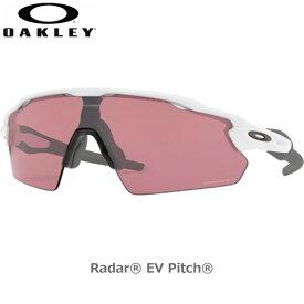 オークリー サングラス レイダーイーブイパス OAKLEY RADAR EV PITCH フレーム Polished White レンズ Prizm Dark Golf oky-sun あす楽