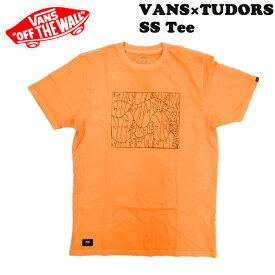 VANS バンズ USモデル VANS×TUDORS SS Tee SAFFRON ヴァンズ Tシャツ ジョエル・チューダー メール便配送