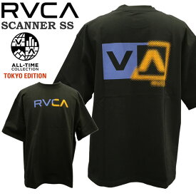 RVCA SCANNER SS TOKYO EDITION Tシャツ ルカ ルーカ メール便配送