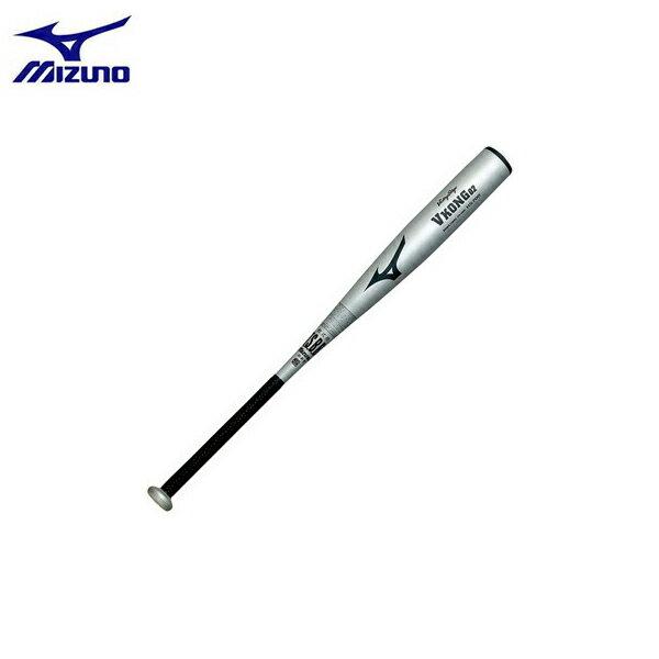 野球 MIZUNO ミズノ 一般軟式金属バット ビクトリーステージ Vコング02(金属製) 83cm740g平均 シルバー 新球対応