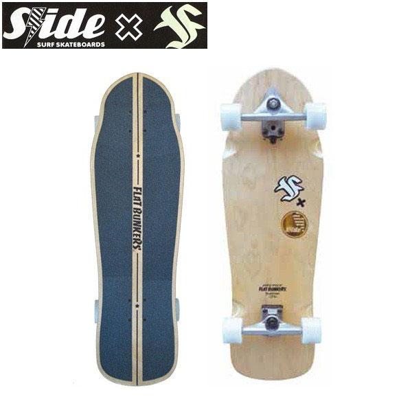 【限定クーポン配布中♪】/SLIDE x FB Curve Ride 33 スライドxフラットバンカーズ コラボ! サーフスケート
