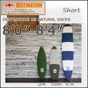 DESTINATION(デスティネーション) USナチュラルソックス サーフボードニットケース ショート 8'0−8'4 サーフィン
