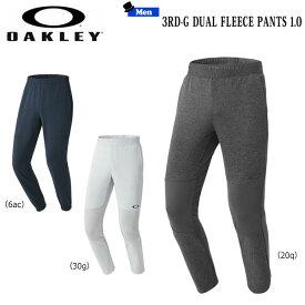 スポーツウェア デュアルフリース ロングパンツ メンズ アパレル オークリー OAKLEY 3RD-G DUAL FLEECE PANTS 1.0 ss-sw50