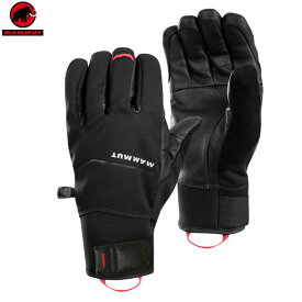 【ポイントアップデー】/マムート MAMMUT Astro Guide Glove カラー:0001 black(MAMMUT_2018FW) カラー:ブラック メール便配送