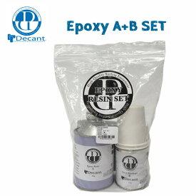【ポイントアップデー】/DECANT(デキャント) EPOXY A+B SET エポキシボード用樹脂 レジン サーフボードリペア【あす楽】