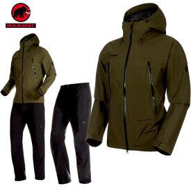 マムート MAMMUT CLIMATE Rain -Suit AF Men クライメイトレインスーツ アジアンフィット ゴアテックス カラー:4027 (MAMMUT_2019SS)(あす楽)