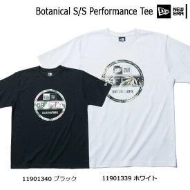 アパレル カジュアル Tシャツ メンズ ニューエラ NEW ERA コットン ポリエステル 半袖 バイザーステッカー Botanical S/S Performance Tee (あす楽)