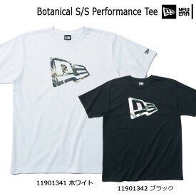 アパレル カジュアル Tシャツ メンズ ニューエラ NEW ERA コットン ポリエステル 半袖 フラッグロゴ Botanical S/S Performance Tee (あす楽)