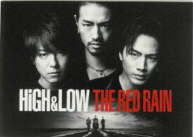 【映画パンフレット】 『HiGH&LOW THE RED RAIN』 出演:TAKAHIRO.登坂広臣.斎藤工