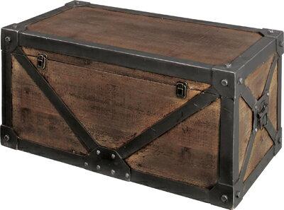 【AntiqueトランクBOX(L)】
