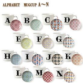 小倉陶器 アルファベット プレート付マグカップ マグカップ 大きい 北欧 ギフトセット プレゼント moyakko