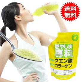 燃やしま専科 500g レモン風味 スポーツドリンク 粉末 パウダー 粉 クエン酸 ドリンク ダイエット サプリメント マルチビタミン 500ml