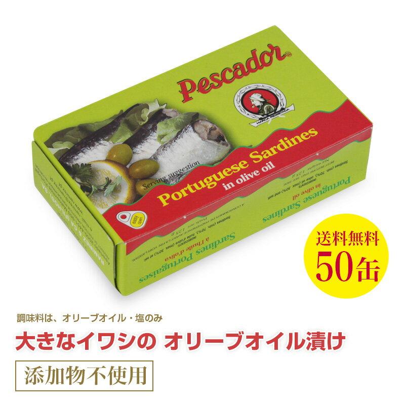 【送料無料】大きなイワシのオリーブオイル漬け125g≪50個セット≫【あす楽対応】