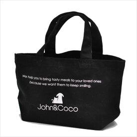 John&Coco ジョンココ コットンミニトートバッグ ブラック