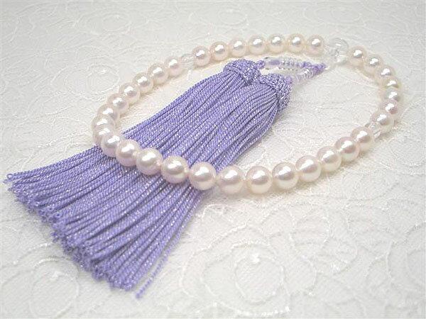 アコヤ真珠念珠(西陣織ケース付き)