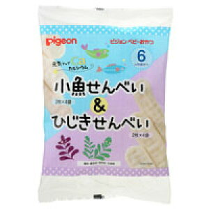 【ピジョン】元気アップカルシウム 小魚せんべい&ひじきせんべい 2枚×4袋入 ■お取り寄せ商品【RCP】