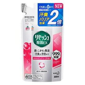 【花王】リセッシュ除菌EX ピュアソープの香り つめかえ用 320ml ※お取り寄せ商品【RCP】