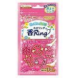 【大日本除虫菊】虫よけカオリング「香Ring」(花の香り)ピンクN形状5種類×6個セット=計30個入※お取り寄せ商品【RCP】