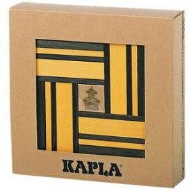 KAPLA(カプラ)ブック付きカラー黄セット 積み木