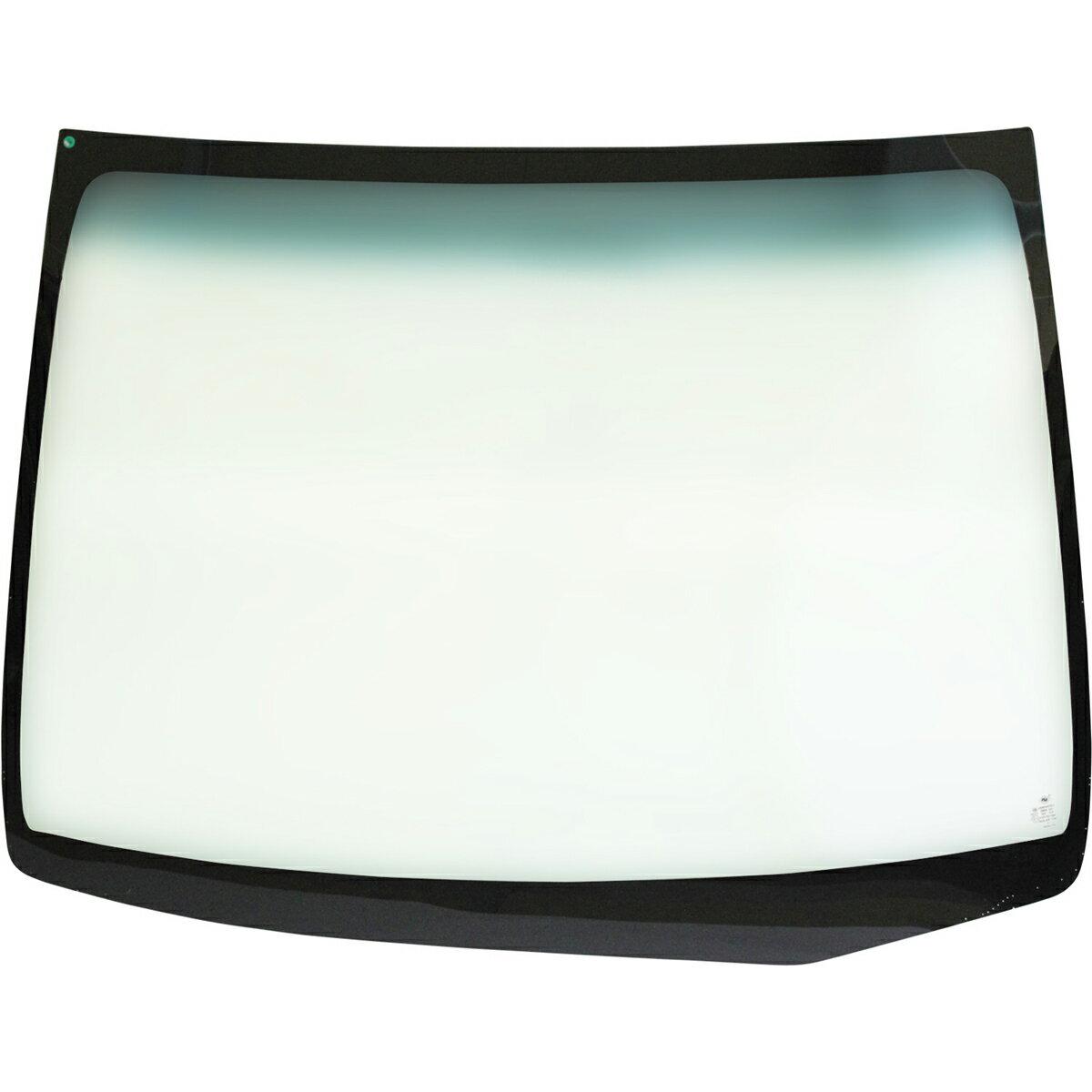 マツダ フレアワゴン 5D WG用フロントガラス ウィンドシールドモールセット 車両型式:MM21S系 年式:H.24.6-H.25.3 ガラス型式:1A15E ガラス色:グリーン ボカシ:ブルー
