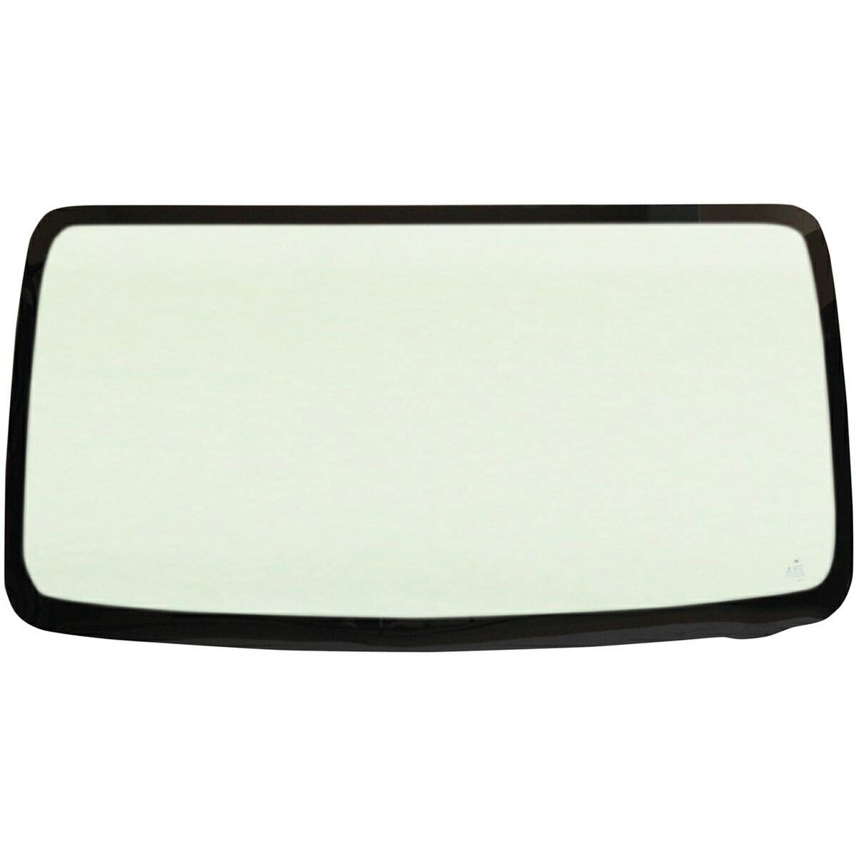 マツダ フレアワゴン 5D WG用フロントガラス ウィンドシールドモールセット 車両型式:MM21S系 年式:H.24.6-H.25.3 ガラス型式:1A15E ガラス色:グリーン