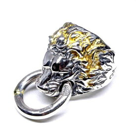 BillWallLeather/BWL/ビルウォールレザー Lion w/Ring In Mouth w/Gold Solder リング