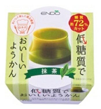 遠藤製餡低糖質でおいしいようかん 抹茶90g×6個入り【常温保存可能】【低糖質】