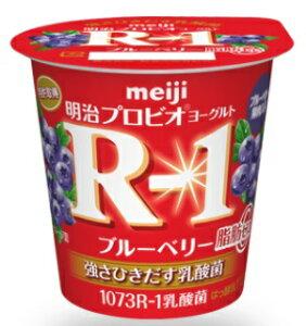 明治 ヨーグルトR−1ブルーベリー脂肪0 112g×12個 【乳酸菌】【はっ酵乳】【要冷蔵】05P03Dec16【RCP】