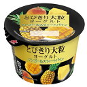 北海道乳業とびきり大粒ヨーグルトマンゴー&スウィートパイン 120g×12個【乳酸菌】【はっ酵乳】【要冷蔵】