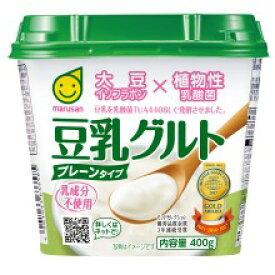 マルサン 豆乳グルト400g×6個【大豆イソフラボン】【砂糖不使用】【乳成分不使用】【植物性乳酸菌】