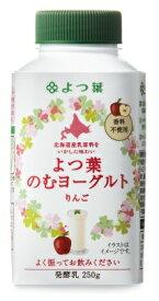 よつ葉乳業 よつ葉のむヨーグルトりんご250g×6本【クール便でお届けします。】【乳酸菌】【北海道産】