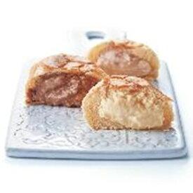 【全国送料無料】【アデリー】 八天堂 プレミアムくりーむパン 12個 (HTCPYG12) くりーむパン(カスタード・チョコレート・ストロベリー×各4個) 【冷凍】