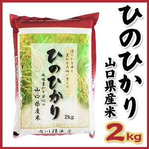 【山口県産米】【市川精米店】 ひのひかり 2kg