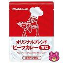 宮島醤油 MIAMI COOK マイアミコックオリジナルブレンドビーフカレー甘口200g×40袋/箱〔ケース〕