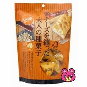 トーノー じゃり豆 濃厚チーズ 80g×10袋 個包装込み【北海道・沖縄・離島配送不可】