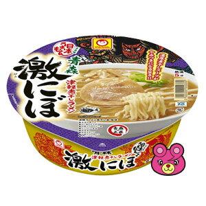 東洋水産 マルちゃん 日本うまいもん 青森津軽煮干しラーメン 激にぼ 110g×12/箱〔ケース〕