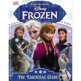 FROZEN THE ESSENTIAL GUIDE (英語) / バーゲンブック 子供 キッズ 絵本 本 自宅学習 洋書 児童洋書 児童 こども 英語 えいご 知育教材 幼児 知育 玩具  教材 家庭学習 自宅学習 勉強 室内 遊び 誕生日 おもちゃ プレゼント 出産祝い