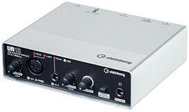 【送料無料】スタインバーグ Steinberg USB2.0 オーディオインターフェース UR12 インターネット配信に便利な機能搭載 ヘッドホン端子付き 音楽制作アプリケーション付き