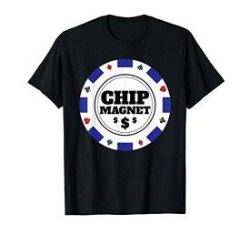 Chip Magnet Casino Poker Chip Winning Gambler Design Tシャツ