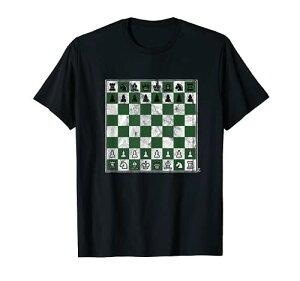 チェスゲーム チェスボード チェスの駒 チェックメイト チェスボード Tシャツ