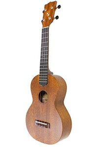 KIWAYA No.66C コンサートウクレレ (国産 アフリカンマホガニー材単板)