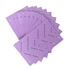 紙やすり サンドペーパー 3MTM キュービトロンTM II クリーンサンディングシート 小口パック 粒度80+ 紫 H/SHT 80 CBT S 120mm X 75mm