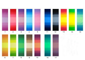 パッチワーク 生地むら染めグラデーションボーダー 全20色