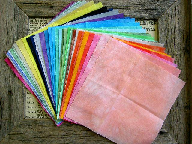 ☆ ハワイアンキルト ☆50色すべてがわかるカットクロス キャシーマム lani dai fabric15×15cmカット