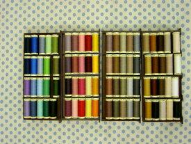 パッチワーク 糸ギッターマン 縫い糸 80色セット