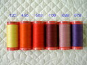 パッチワークメトロシーン 縫い糸【500m巻】 Art9145