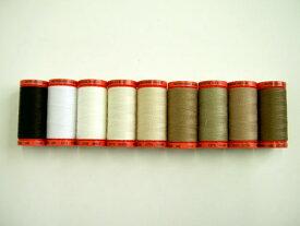 パッチワークメトロシーン 縫い糸【500m巻】 Art9145 全9色