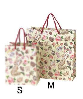 大的大小维多利亚纸手提包手袋纸袋表面涂层纸(M尺寸)(BDD不可)