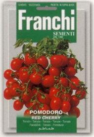 【イタリアの野菜の種】 FRANCHI社イタリアントマトRED CHERRY《固定種/支柱・不要》106/111